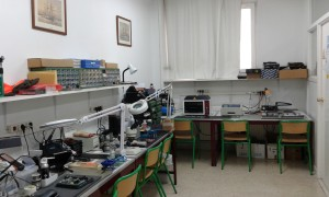Aspecto general del laboratorio